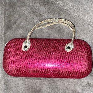 pink girls glasses holder